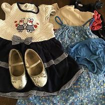 Lot 4 Dress and Shoes Gap and Zara Size 2 Years Photo