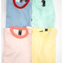 Lot 4 New Alternative Apparel Multicolor Cotton Short Sleeve T-Shirts Tops Sz M Photo