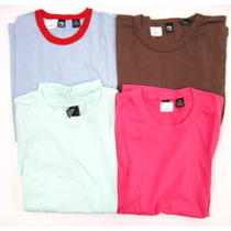 Lot 4 New Alternative Apparel Multicolor Cotton Short Sleeve Tee-Shirts Tops M Photo