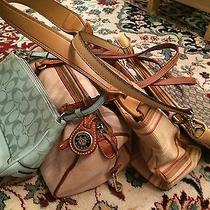 Lot 4 Purses - Coach Dooney and Bourke Fossil and Nine West Photo