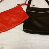 Lot-5 Bags. Fossil Crossbody Coach Wristlets Margot Crossbody. Lesportsac Mini Photo
