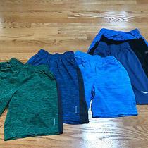 Lot 5 Reebok Puma Gap Boy's Shorts Active Dri-Fit T-Shirt Sz 7-8 Youth Small Photo