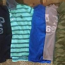 Lot 6 Boys Gap Tees and Polos Size Small 6/7 Photo