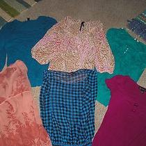 Lot 6 Name Brand Womens Tops Size M Nice Photo