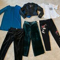 Lot/6 Womens Trendy and Hip Size Small Bagatelle Jacket Madewell Velvet Pants Photo