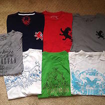 Lot 7 Mens Express Graphic  S/s  T Shirts  Small Photo