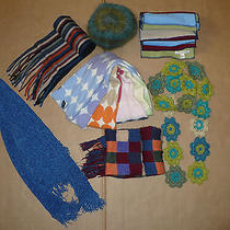 Lot 7 Women's Winter Accessories Scarves Gap Beret h&m Shawl Photo