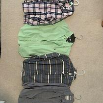 Lot Boys Button Down Shirts Polo Ralph Lauren Gap Gymboree Paper Denim Medium Photo