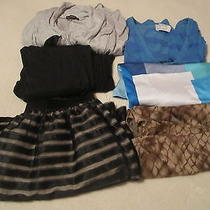 Lot Clothes Size Large Dressy Skirt Tank Tops Sweater Express  Ny & Co American Photo