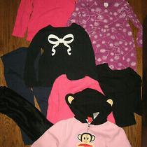 Lot Girls 4t Tops Old Navy Tcp h&m Paul Frank Dress Leggings Hooded Zip Jacket Photo