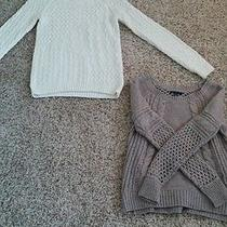 Lot if 2 Size Small Sweaters From American Eagle and Mossimo Nwot Photo