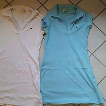 Lot Lacoste Polo Dresses Size 40 Photo