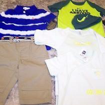 Lot Nwt Boys Clothes 6 M Ralph Lauren Outfit Nike Onsie & Hat  Gap Pj's Photo