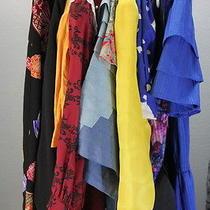 Lot of 10 Vintage Dresses - 1980s Dresses- Tiered Skirts - Jim Thompson - Dvf  Photo
