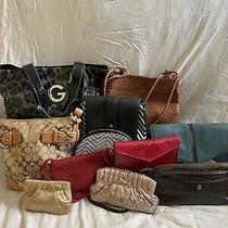 Lot of 11 Designer Bags Including Coach Nine West Cole Haan Etc. Photo
