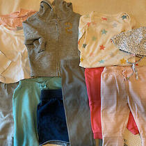 Lot of 12 Baby Gap h&m Europe Joe Fresh Girl Fall Summer Clothes 3-6 Months Euc Photo