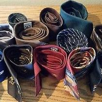 Lot of 12 Men's Ties (Don Loper Christian Dior Bernie Bronzini and Others) Photo