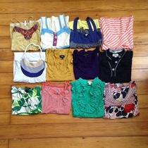 Lot of 12 S/m Tanks American Eagle Loft Delia's Billabong Photo