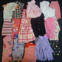 Lot of 16 Items Baby Girl Clothing Size 6-12 Mo Hatley Zutano Baby Gap Etc Photo