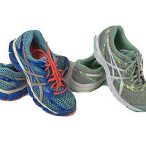 Lot of 2 Asics Gel Womens Running Athletic Shoes Size 8 Sneakers Walking Excite Photo