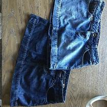 Lot of 2 Express Denim Jean Skirts Size 2 Photo