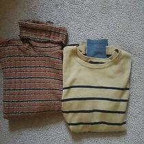 Lot of 2 Express Gapwomen's Pullover Turtleneck Sweaters Size Xs Tops Photo