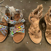 Lot of 2 Gap Sandals Size 1 New Photo
