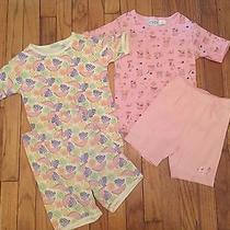 Lot of 2 Girls Size 8 Short Sleeve Talbots Kids Pajamas Set Photo