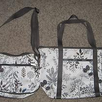 Lot of 2 Lesportsac Etched Classic Hobo 7520 & Erika 7867 Shoulder Bags Photo
