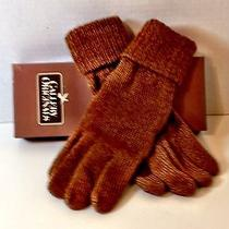 (Lot of 2 Pairs)gallery Originals Avon Knit Gloves With Leather Palm - Nib Photo