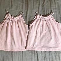 Lot of 2 Rare Girls Matilda Jane Hammond Bay Edie Blush Tanks Pink Size 4 Euc Photo