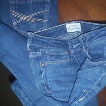Lot of 2 Size 0 Short Aeropostale Girls Skinny Jeans Med Wash Ashley Model .99 Photo