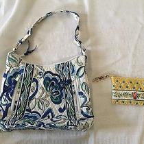 Lot of 2 Vera Bradley Quilted Bag  Coin Cosmetic Purse - 102 Msrp Photo