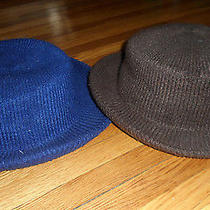 Lot of (2) Vintage Ladies  Hats by Arlin.  One Size.  Blue & Brown Photo