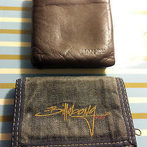 Lot of 2 Wallets Billabong and Man-Du Photo