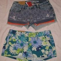 Lot of 2-Womans Shorts Nwt Size 1 Photo