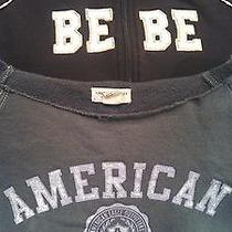 Lot of 2 Women's Sweatshirts Bebe and American Eagle. Size Large Photo