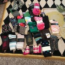 Lot-of 20  Nwt Womens Socks by Kate Spade Socks/ Ralph Lauren Socks/ Misc. Photo