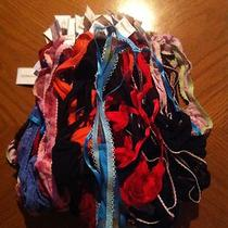 Lot of 22 Thongs From Express. Brand New. Beautiful Sets Photo
