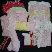 Lot of 23 Items Baby Girl Clothing Size 3-6 Mo Guess George Gymboree Etc Photo
