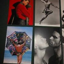 Lot of 28 Gianni Versace Post Cards'men Without Ties' Fashion Photography1996  Photo