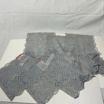 Lot of 3 Auden Women'sall-Over Lace Cheeky Panties  Light Gray- Size Large(12-14 Photo