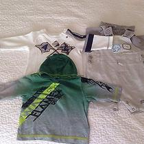 Lot of 3 Baby Boy Clothes. Size 3m. Photo