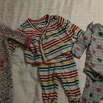 Lot of 3 Baby Girl Outfits Baby Gap 0-3 and 3-6 Months  Photo