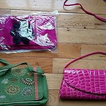 Lot of 3 Clutch Purses/fossil Avon & More Photo