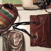 Lot of 3 Designer Purses Sak Fossil Photo