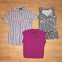 Lot of 3 - Express Design Studio Shirts Small Photo