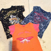 Lot of 3 Girls Items Ed Hardy and Others.... Nr Photo