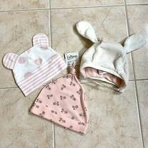 Lot of 3 Gymboree Beanie Baby Girl 3-6 M Lollipop & Gap Layette Pink 0-3 Months Photo