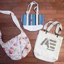Lot of 3 Handbags/totes Dickiesamerican Eaglegap Photo